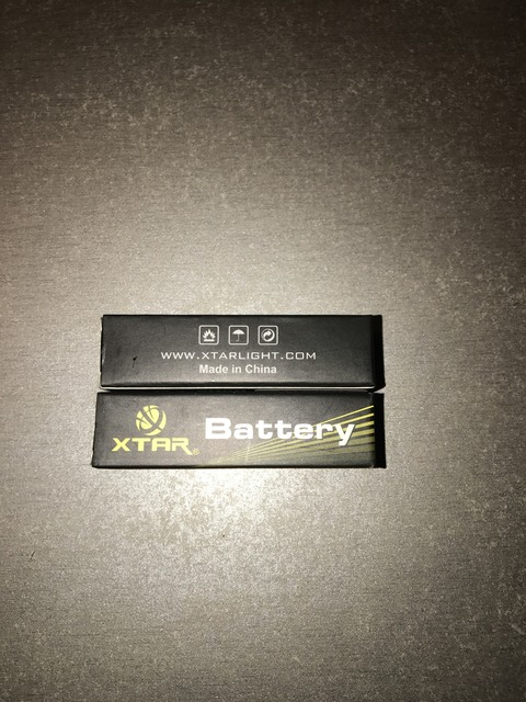 Xtar Li-Mn 18650 2100mAh 30A High Drain battery with Nipple 1